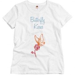 Butterfly kisses logo