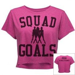 Squad Goals Crop Top