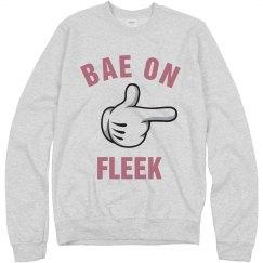 My Bae On Fleek Girl