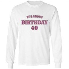 birthday #40