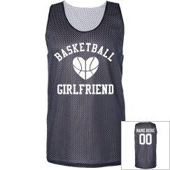 Trendy Basketball Girlfriend Jersey With Custom Name