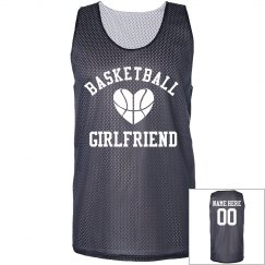 Trendy Basketball Girlfriend Jersey With Custom Name