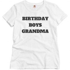 Birthday boys grandma