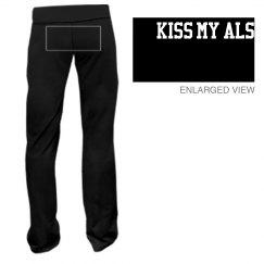 Kiss my ALS yoga pant
