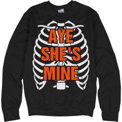Aye She's Mine Skeleton