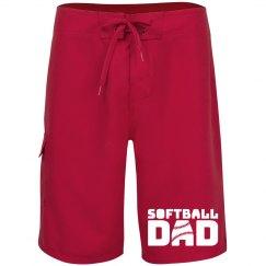 Softball Dad Shorts