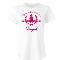Abigail. gymnastics princess
