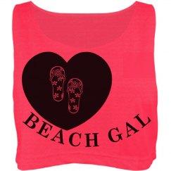 Beach Gal Crop Top