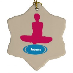Yoga Ornament as Gift