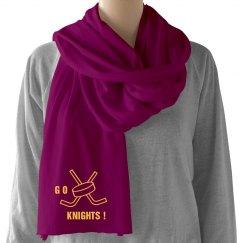 Knights scarf