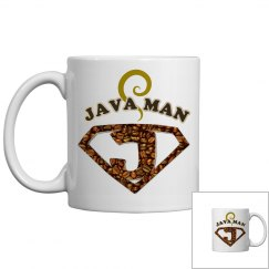 Java Man Coffee Humor Mug
