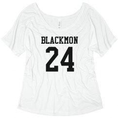 Blackmon Cut Out Back Tee