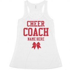 Custom Cheer Coach Crop
