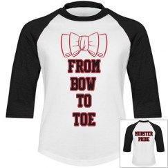 3/4 sleeve Bow to Toe