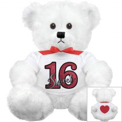 Sweet 16 Teddy