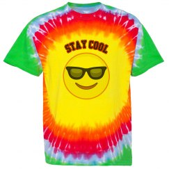 Smiley Face Tye-Dye t-shirt