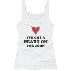 A Heart On for John