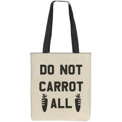 Do Not Carrot Easter Pun Totes