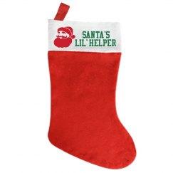 Santa's Helper Stocking