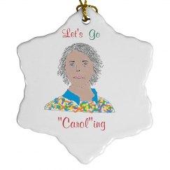 Caroling ornament