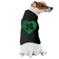 Green Heart Shamrock