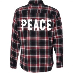 Peace Flannel & Grunge