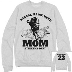 Athletics Dept Mom. Football, Baseball, Volleyball