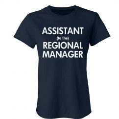 To The Regional Manager