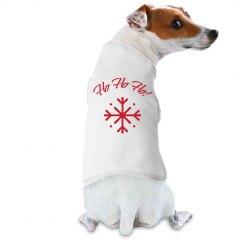 Ho Ho Ho! Dog Tee