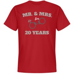 Mr. & Mrs. for 20 years