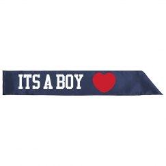 Its a Boy  Sash