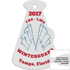 2017 FHS LMS Winterguard Tampa, Florida (Custom Tag)
