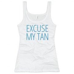 Excuse Beach Tan