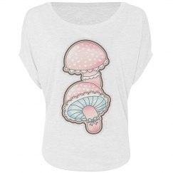 Cute Girly  Mushrooms