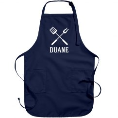 Duane personalized apron