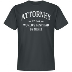 Attorney by day world's best dad by night