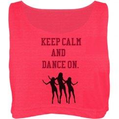 Dance on.