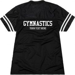 Custom Text Gymnastics Girl