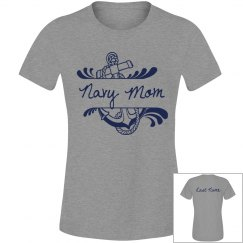 Navy Mom Shirt