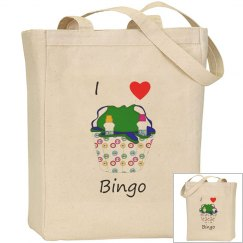 I love bingo (bag)