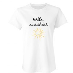 Hello Sunshine Adult Tee
