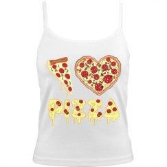 I Love Pizza Camisole
