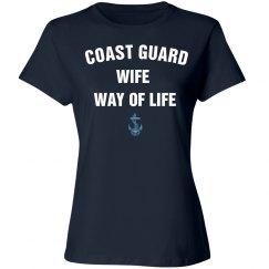 Coast guard wife way of life