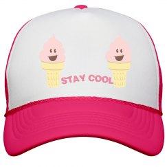 Stay Cool Peak Cap