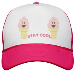 Stay Cool Peak Cap