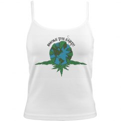 Smoke The Earth - Ladies Tank - Full Color