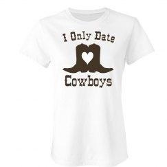 Cowboys Rhinestone Tee