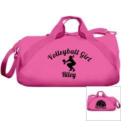 Riley, volleyball girl