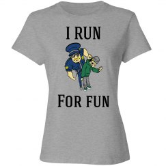 I run for fun shirt