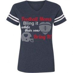 Football Moms Bling It